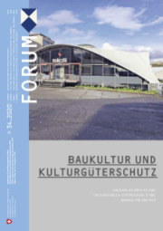 PCP Forum no 34/2020 – Baukultur and the protection of cultural property